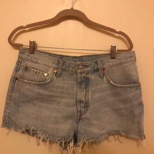 Levi's denim cutoff shorts W31 (M/L) fit.